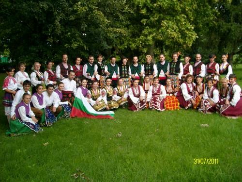 Участие в международен фестивал за любителски клубове, изучаващи танци. Чанград, Унгария